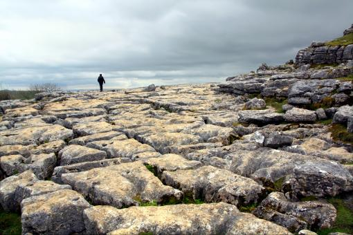 Free Stock Photo of Limestone pavement