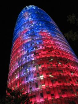 Free Stock Photo of Agbar Tower in Barcelona