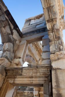 Free Stock Photo of Library of Celsus
