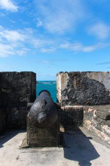 Free Stock Photo of Puerto Rico - Cannon