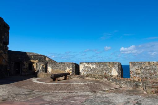 Free Stock Photo of Puerto Rico - El Morro fort - San Juan