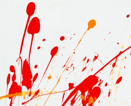 Free Stock Photo of Abstract Paint Splat