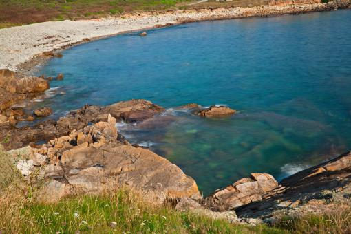 Free Stock Photo of Guernsey Coast - HDR