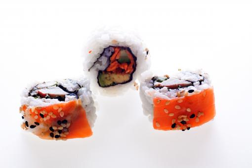 Free Stock Photo of Sushi