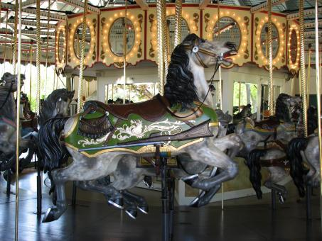 Free Stock Photo of Carousel Horse