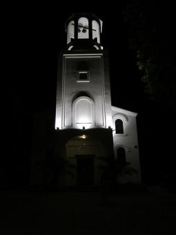 Free Stock Photo of Church at night
