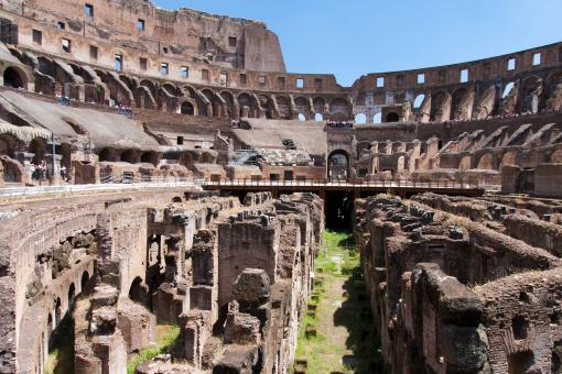 Free Stock Photo of Colosseum