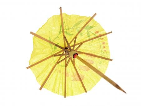 Free Stock Photo of Cocktail umbrella