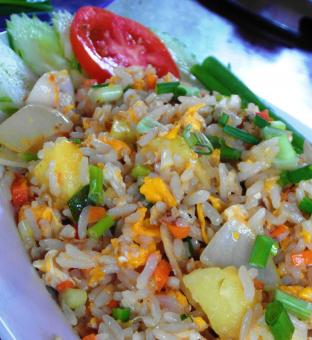 Free Stock Photo of Stir Fried Rice