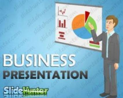 Free Stock Photo of Free Vector: Business Presentation