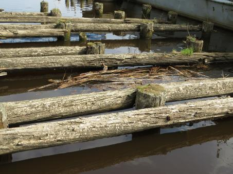 Free Stock Photo of Old wooden dock