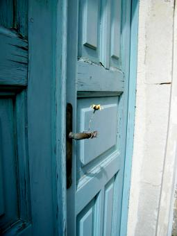 Free Stock Photo of Blue Door