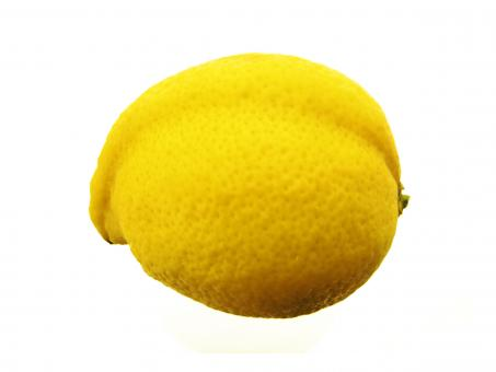 Free Stock Photo of Single Lemon