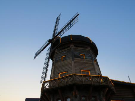 Free Stock Photo of Decorative windmill
