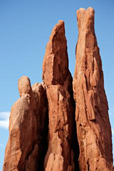 Free Stock Photo of Three Graces at Garden of the Gods