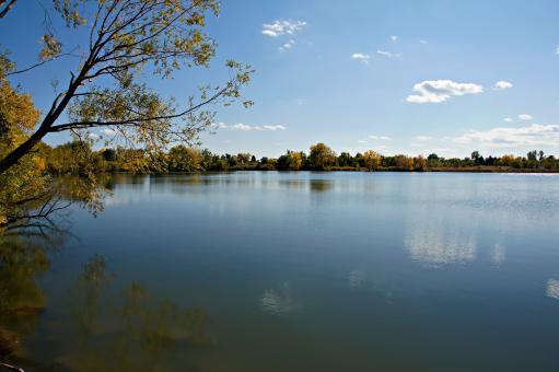 Free Stock Photo of Crown Hill Lake Autumn