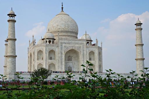 Free Stock Photo of Taj Mahal Southwest