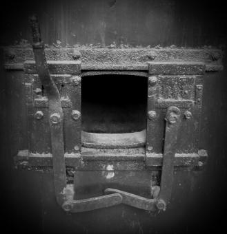 Free Stock Photo of Train Furnace
