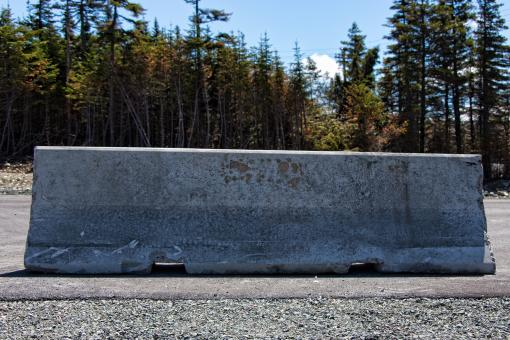 Free Stock Photo of Road Barrier