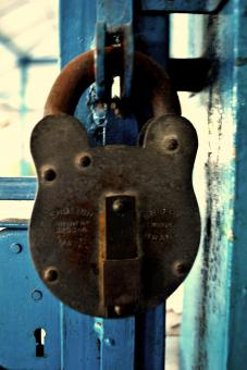 Free Stock Photo of Antique Padlock