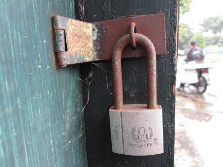 Free Stock Photo of Lock