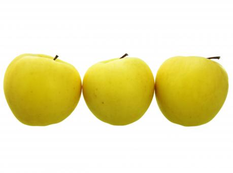 Free Stock Photo of Three apples