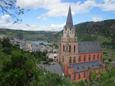 Free Stock Photo of The town of Oberwesel, Germany