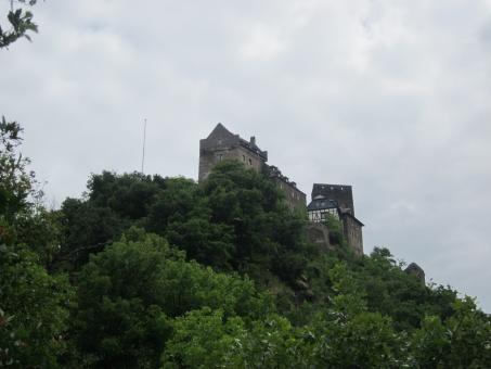 Free Stock Photo of Castle in Oberwesel, Germany