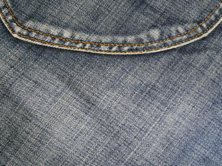 Free Stock Photo of Denim Jeans Close-up