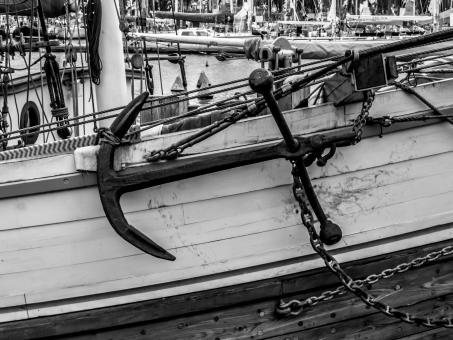 Free Stock Photo of Admiralty type anchor