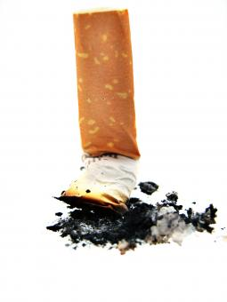 Free Stock Photo of Cigarette butt