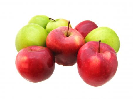 Free Stock Photo of Mixed apples