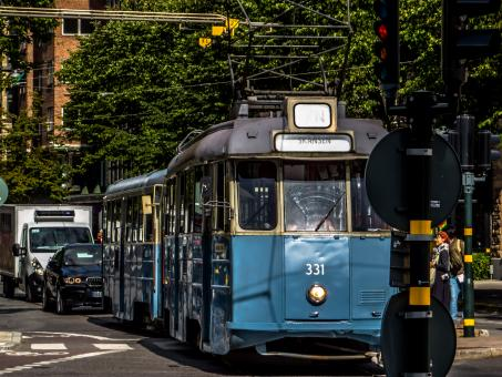 Free Stock Photo of Old tram