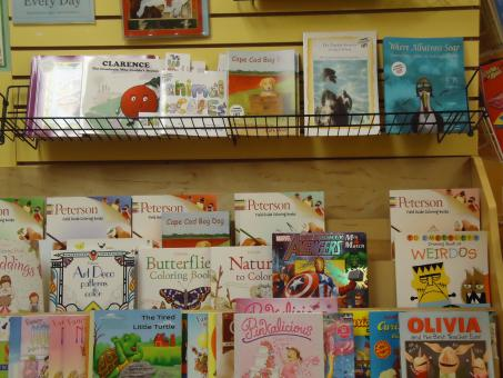 Free Stock Photo of Children's books display