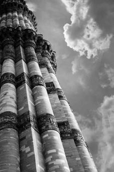 Free Stock Photo of  The Qutub Minar in India