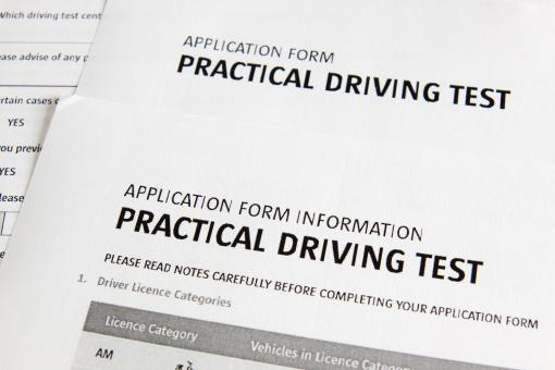Free Stock Photo of Driver test