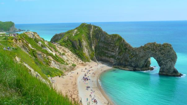 Free Stock Photo of Durdle Door in Dorset