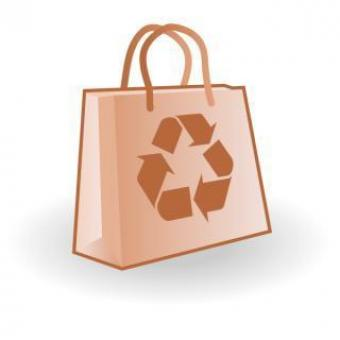 Free Stock Photo of Paper bag vector