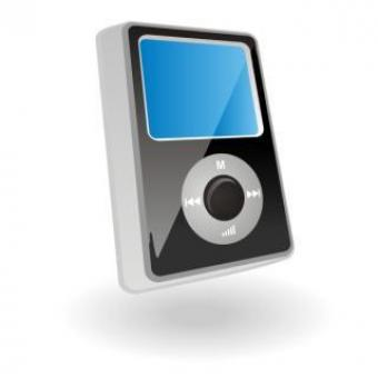 Free Stock Photo of mp3 player vector