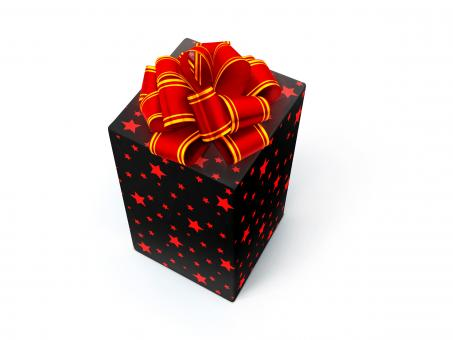 Free Stock Photo of Gift with bow