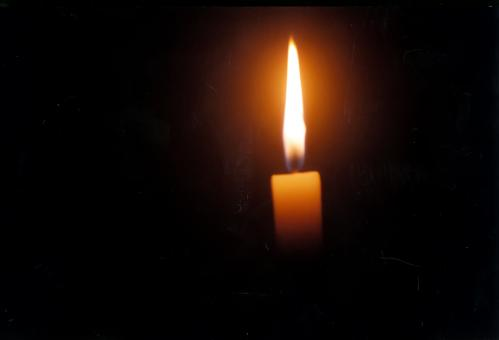 Free Stock Photo of Candle flame