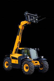 Free Stock Photo of New telescopic handler
