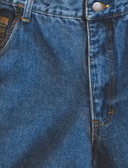 Free Stock Photo of Blue Jeans Texture