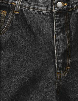 Free Stock Photo of Black Jeans Texture