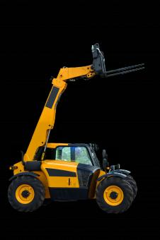 Free Stock Photo of Telescopic handler