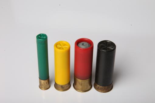 Free Stock Photo of Shotgun shells