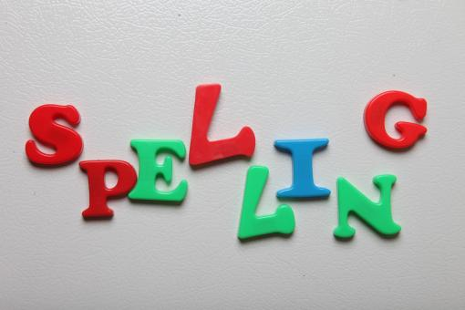 Free Stock Photo of Spelling letters