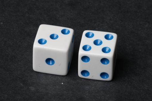 Free Stock Photo of Dice