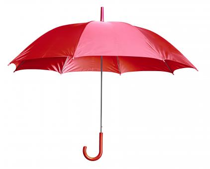 Free Stock Photo of Red Umbrella