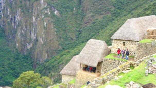 Free Stock Photo of Overlooking Machu Picchu